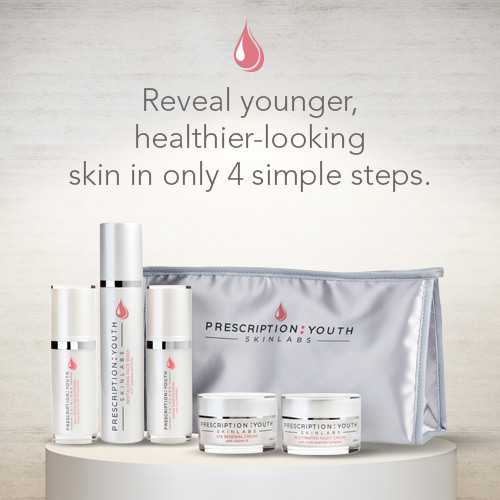 Reveal younger, healthier-looking skin in only 4 simple steps.
